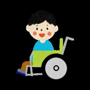 -300x300 車いすに乗っている男の子① ©Atelier Funipo