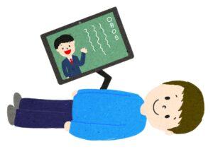 20201226_151621000_iOS-300x225 重度の身体障害のある方がオンライン授業に参加しているイラスト